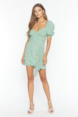 Flynn Skye Samantha Mini Dress Mint Green XS