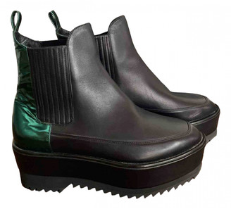 Damir Doma Black Leather Ankle boots