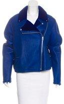 McQ Shearling Moto Jacket