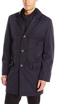 Calvin Klein Men's Madog 35 Inch Raincoat with Quilted Liner and Zip-Out Bib