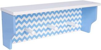 Trend Lab Blue Sky Nursery Chevron Shelf