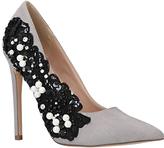 KG by Kurt Geiger Bounty Embellished Stiletto Heeled Court Shoes