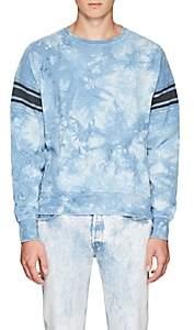 Remi Relief Men's Tie-Dyed Cotton Terry Sweatshirt - Blue