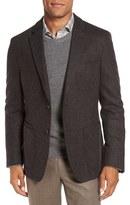 Men's Big & Tall Flynt New Fit Herringbone Wool Blend Sport Coat