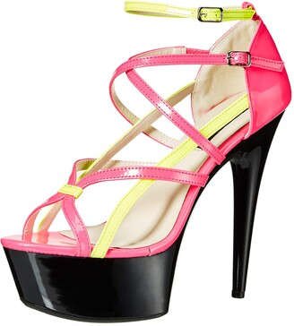 The Highest Heel Women's Amber-501 6 Inch Platform Sandal