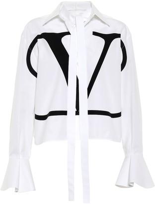 Valentino VLOGO cotton shirt
