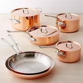 Williams-Sonoma Williams Sonoma Mauviel Copper Triply 10-Piece Cookware Set
