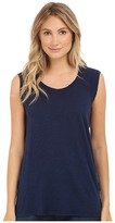 Allen Allen Sleeveless Tee Stripe Back