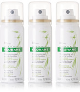 Klorane Dry Shampoo With Oat Milk, 3 X 50ml - Colorless