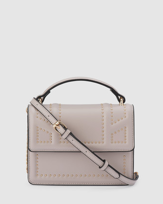 Olga Berg Women's Clutches - Cambrie Studded Shoulder Bag - Size One Size at The Iconic