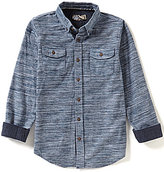 First Wave Big Boys 8-20 Flannel Woven Shirt