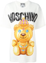 Moschino crowned bear T-shirt - women - Cotton - XXS