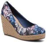 Refresh Women's Sunset 61720 Rounded toe High Heels in Blue