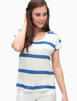 Splendid Yuma Stripe Off Duty Tee