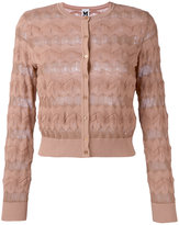 M Missoni round neck cardigan - women - Cotton/Polyamide/Polyester/Viscose - 40