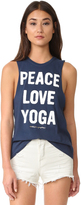 Spiritual Gangster Peace Love & Yoga Rocker Tank