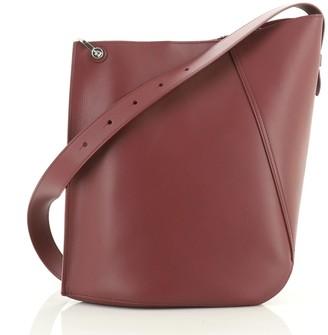 Lanvin Hook Shoulder Bag Leather Medium