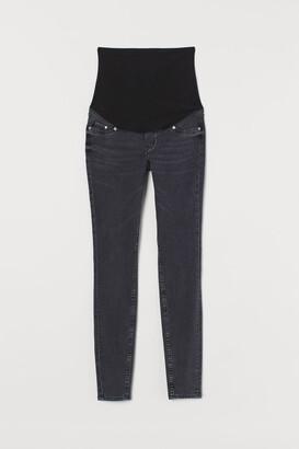 H&M MAMA Super Skinny Jeans - Black