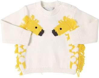 Stella Mccartney Kids Organic Cotton Tricot Knit Sweater