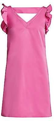 No.21 No. 21 Women's Flutter-Sleeve Shift Dress