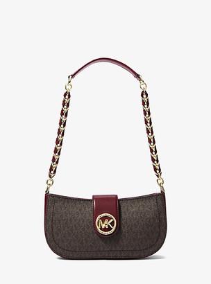 Michael Kors Carmen Extra-Small Logo Shoulder Bag