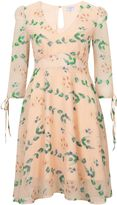 Wolfwhistle Wolf & Whistle Peach Floral Tea Dress