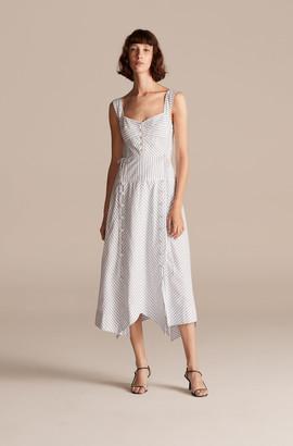 Rebecca Taylor Pinstripe Tank Dress
