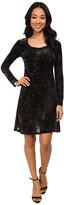 Karen Kane Velvet Underground Burnout Dress
