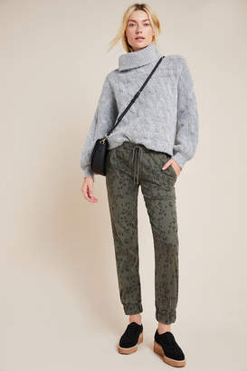 Cloth & Stone Leopard Chambray Joggers