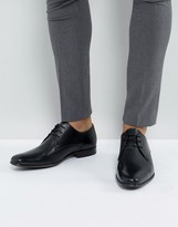 New Look Leather Oxford Shoes In Black