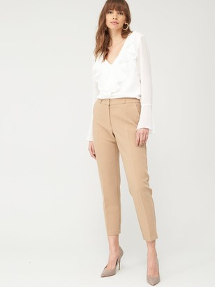 Very Ruffle Front Blouse - Ivory
