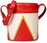 Stella McCartney red drummer bag