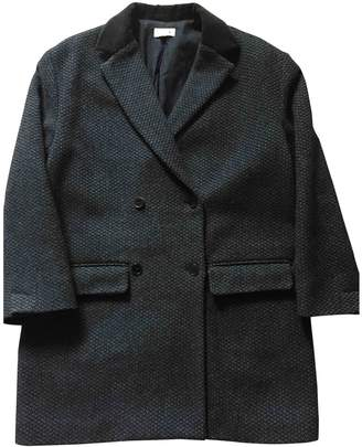 soeur Navy Wool Jackets