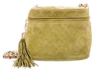 Chanel Suede Camera Bag
