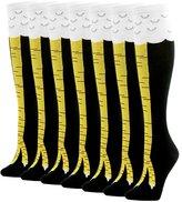 Gift Chicken Socks, Gmark Adult Knee High Fitness Novelty Chicken Legs Image Socks Rose Red 1 Pack