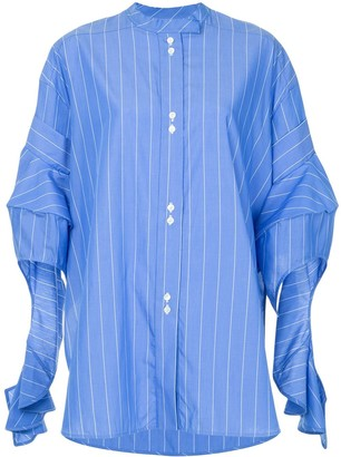Ellery Goldman draped shirt