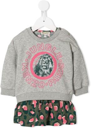 Kenzo Kids Jungle Print Dress Set