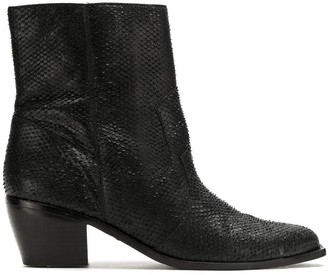 Mara Mac Leather Ankle Boots