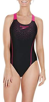 Speedo Gala Logo Medalist Swimsuit
