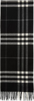 Burberry Black Check Giant Icon Scarf