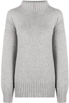 Pringle Guernsey stitch cashmere jumper