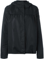 Moncler Gamme Rouge hooded jacket - women - Silk/Polyester - I
