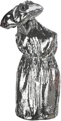 N°21 N21 One-Shoulder Bow Detail Sequins Dress