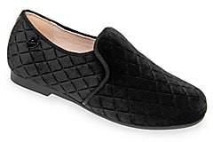 Venettini Girl's Conor Velvet Loafers