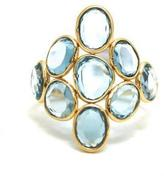 Tresor Collection - Sky Blue Topaz Ring In 18K Yellow Gold
