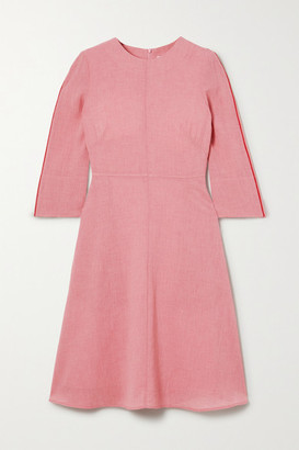 Cefinn Voile Midi Dress - Blush