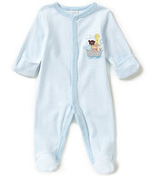 Starting Out Baby Boys Newborn-6 Months Striped Noah's Ark Coveralls