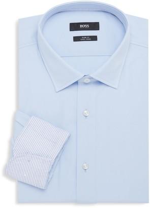 HUGO BOSS Slim-Fit Long-Sleeve Dress Shirt