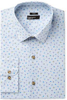 Bar III Men's Slim-Fit Stretch Butterfly Print Dress Shirt, Created for Macy's