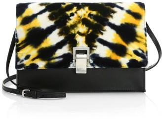 Proenza Schouler Small Velvet Tie-Dye Lunch Bag